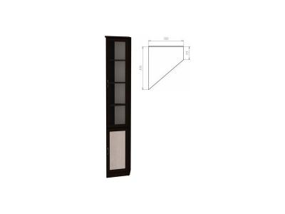 Шкаф для книг артикул 208 венге