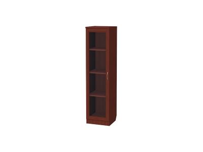 Шкаф для книг узкий артикул 212 итальянский орех