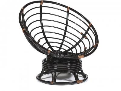 Кресло-качалка Papasan W23/01b без подушки Античный Чёрно-коричневый