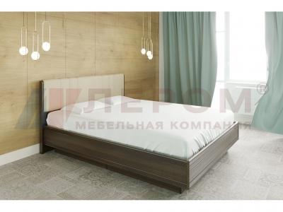 Кровать с мягким изголовьем КР-1013 1600х2000 Акация Молдау