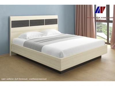 Кровать КР-1804 1800х2000 Дуб Беленый - комбинированный