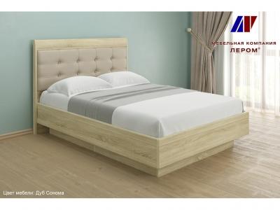 Кровать КР-1852 1400х2000 Дуб Сонома