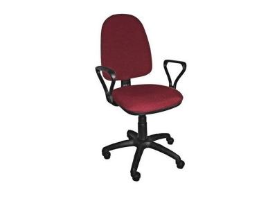 Компьютерное кресло Престиж Топаз 2-А Бордовый