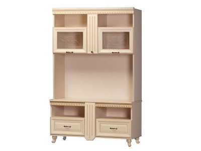Шкаф многоцелевой Марлен 477 1410х2146х535 мм