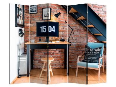 Ширма 1604-5 Loft 5 панелей