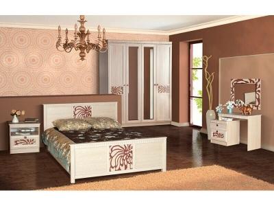 Спальня Инна Денвер светлый комплектация 1