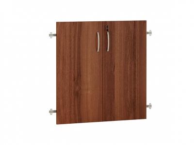 Двери ЛДСП 2 секции с замком 62.59 Альфа 750х790