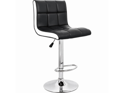 Барный стул Олимп WX-2318B экокожа чёрный
