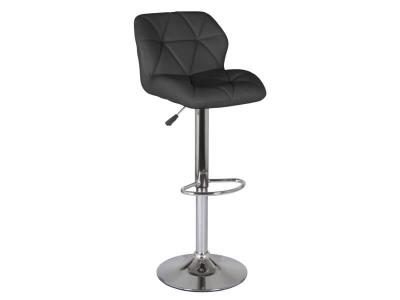 Барный стул Алмаз WX-2582 экокожа чёрный