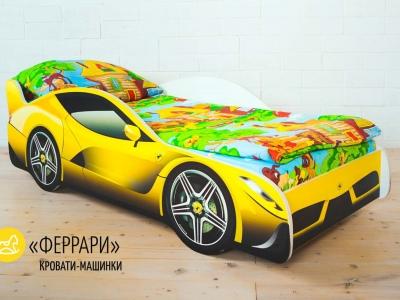 Кровать-машина Феррари