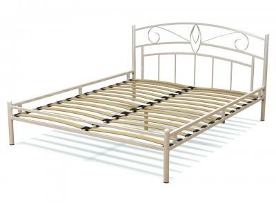 Кровать 160 Арго металлическая Белый глянец акция