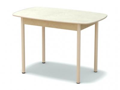 Стол обеденный овальный Венециано - ноги белые