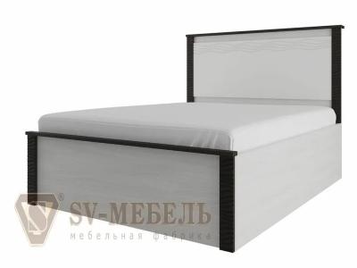 Кровать одинарная 900 Гамма 20 Ясень анкор светлый/Венге