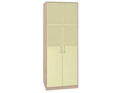 Шкаф для одежды 6 Калейдоскоп 782х373х2088 Зеленая радуга