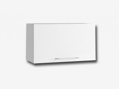 Шкаф верхний 600мм горизонтальный ПГ 350х600мм МДФ белый Капля