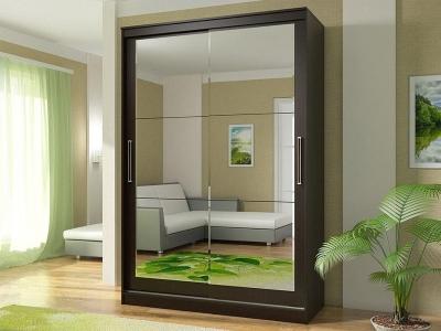 Шкаф-купе Комфорт 13 прямоугольные зеркала