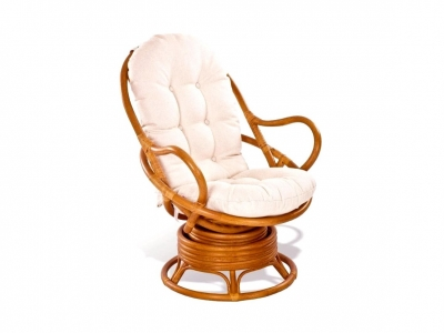 Кресло вращающееся 05/01 миндаль матовый