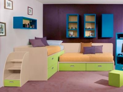 Кровать №13 с лестницей