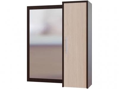 Настенное зеркало Сокол ПЗ-4 Венге/Беленый дуб