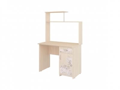 Стол компьютерный Орион-10.10 Лайт Дуб Кобург 1000х600х1580
