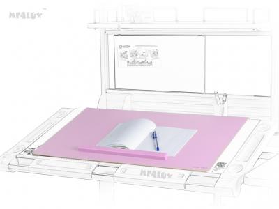 Настольное покрытие PAD-01 New PN с металлической основой розового цвета и магнитным держателем