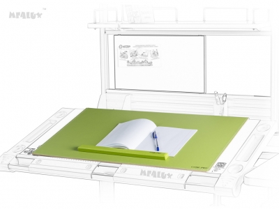 Настольное покрытие PAD-01 New Z с металлической основой зеленого цвета и магнитным держателем