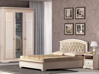 Спальня Парма кремовый белый
