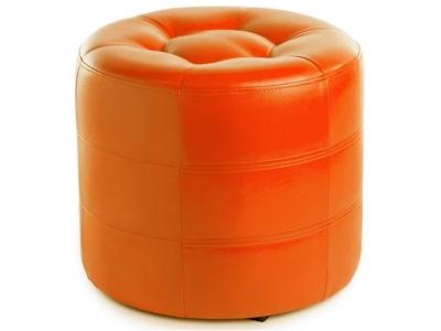 Пуф круглый ПФ-7 Оранжевый