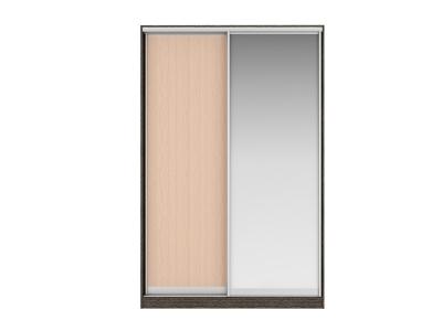 Шкаф-купе Джонни Вариант 3 Фасады ЛДСП и Зеркало