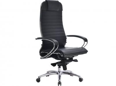 Компьютерное кресло Samurai K-1.04 черный-721 с ковриком СSm-25