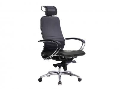 Компьютерное кресло Samurai K-2.04 черный-721 с ковриком СSm-25