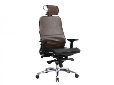 Компьютерное кресло Samurai K-3.04 темно-коричневый с ковриком СSm-25