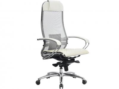 Компьютерное кресло Samurai S-1.04 белый лебедь с ковриком СSm-10