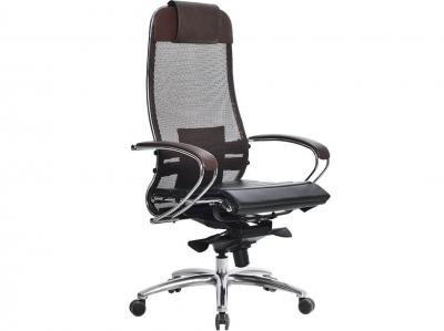 Компьютерное кресло Samurai S-1.04 темно-коричневый с ковриком СSm-25