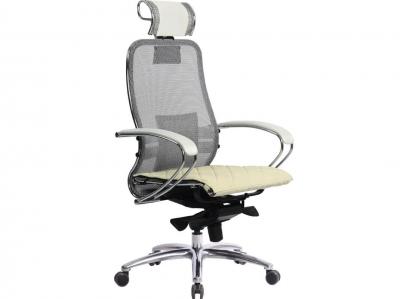 Компьютерное кресло Samurai S-2.04 белый лебедь с ковриком СSm-10