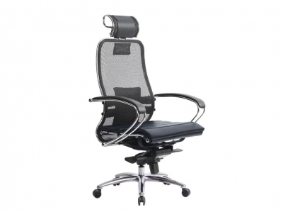 Компьютерное кресло Samurai S-2.04 черный с ковриком СSm-25