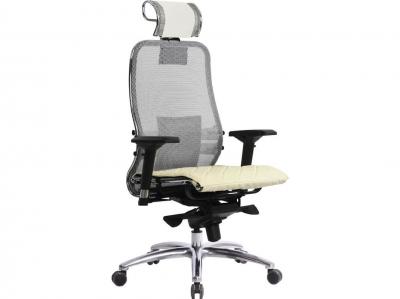 Компьютерное кресло Samurai S-3.04 белый лебедь с ковриком СSm-10
