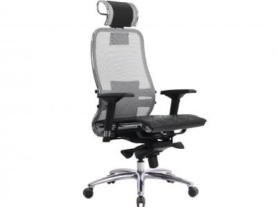 Компьютерное кресло Samurai S-3.03 серый с ковриком СSm-10