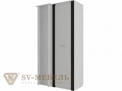 Шкаф угловой-прямой Гамма 20 Ясень анкор светлый/Венге