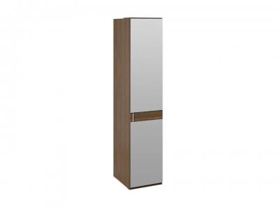 Шкаф для белья с 1 зерк. дверью Харрис СМ-302.07.002 Дуб американский