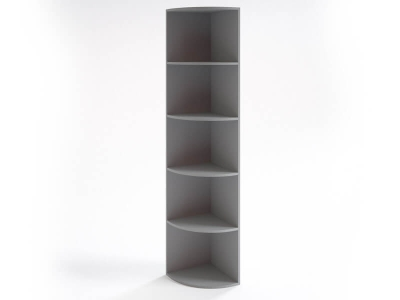 Шкаф угловой НШ-16 Серый
