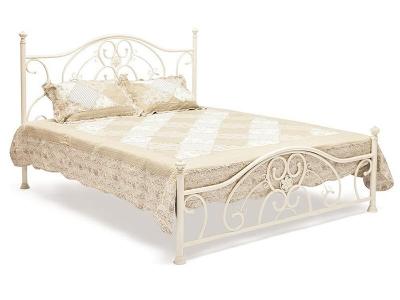 Кровать металлическая Elizabeth 160х200 Античный Белый