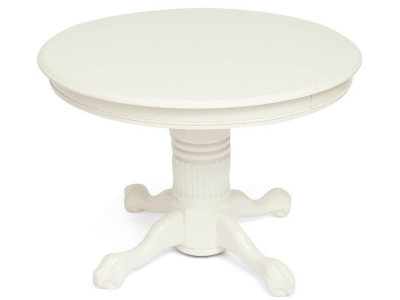 Стол круглый раскладной Rochester Ivory White (4260-stc)